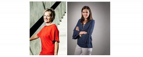 January Lunch with the Marketers of the Year Aude Mayence and Mieke Debeerst